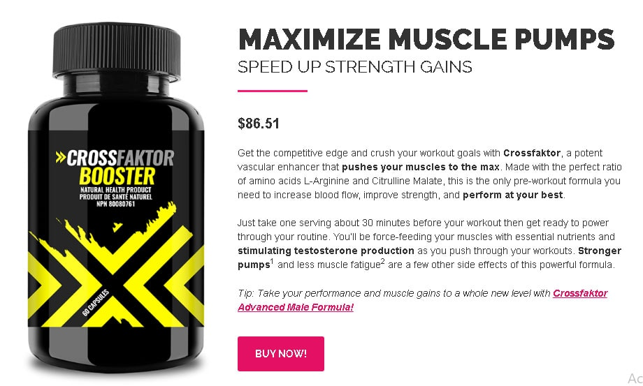 Crossfaktor Booster Buy Now