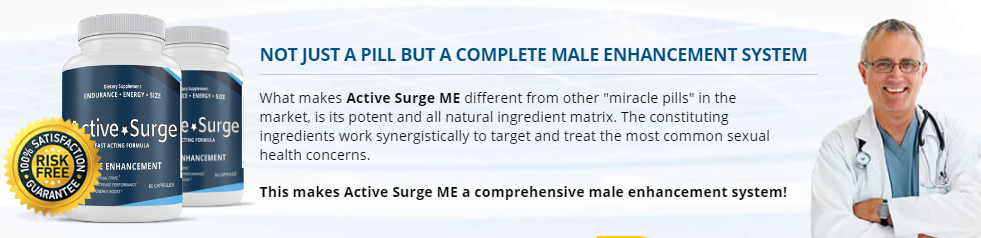 Active Surge Male Enhancement